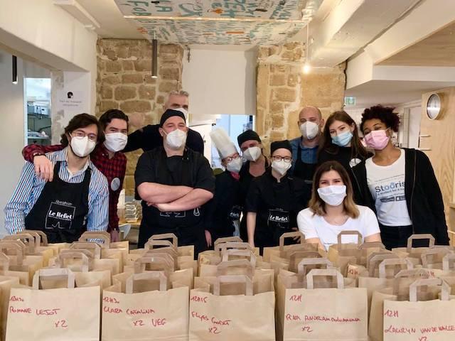 L'équipe du Reflet à Paris propose des repas à 1€ pour les étudiants / © Le Reflet