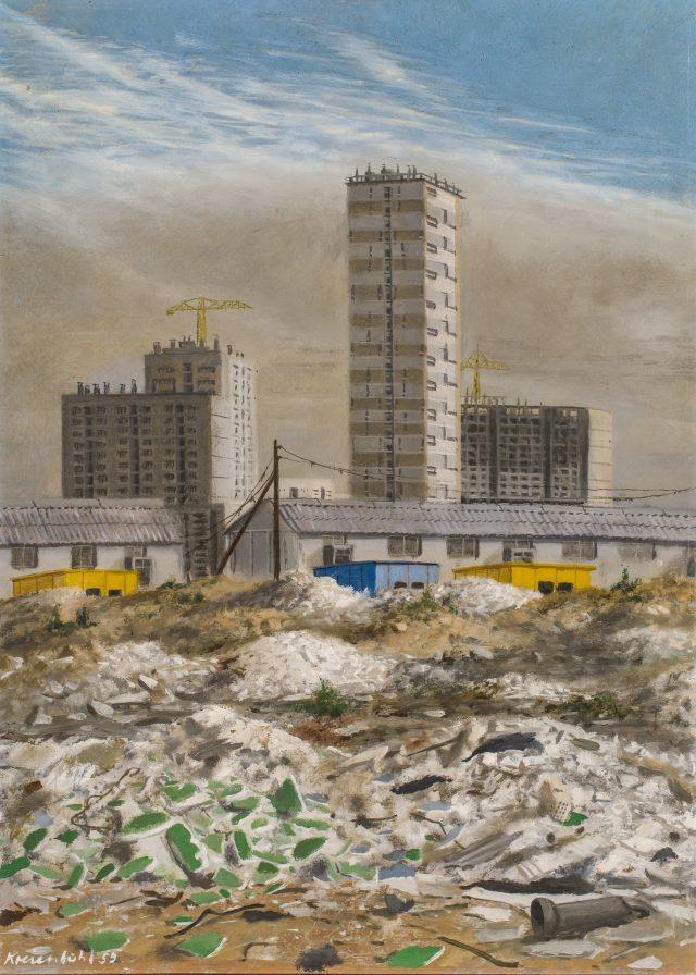 Les constructions nouvelles en banlieue (1959) / © Jürg Kreienbühl - Galerie Loeve&Co