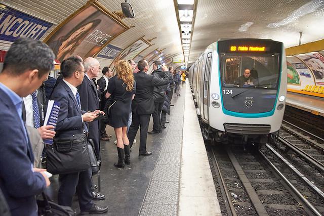 Le métro à Paris / © 2017 IRITS Events Ltd - Ben Evans (Creative commons - Flickr)