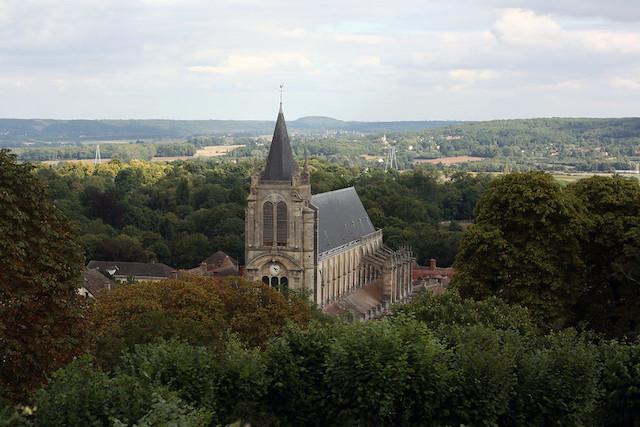 La vue depuis la tour Anne de Bretagne à Montfort-l'Amaury / ©  Stéphanie_17 (Creative commons - Flickr)