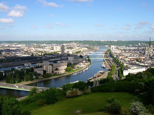 La Seine à Rouen / ©  Frédéric Bisson (Creative commons - Flickr)