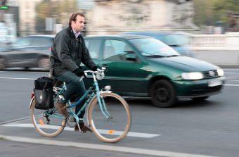A Paris, à vélo, on égale les autos