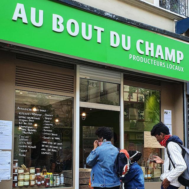 Au Bout du Champ, boutiques de producteurs locaux à Paris et en banlieue / © Au Bout du Champ
