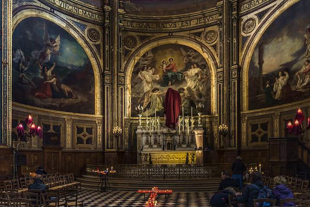 L'église Saint-Eustache à Paris / © Luc Mercelis (Creative commons - Flickr)