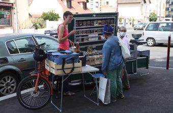 Des légumes aux fripes, on livre tout en vélo cargo