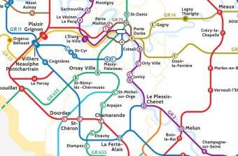 4 cartes de transport revisitées pour sillonner le Grand Paris à pied ou à vélo