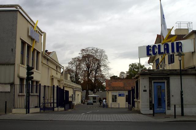 Les Laboratoires Eclair à Epinay-sur-Seine en Seine-Saint-Denis / © Willy Vainqueur