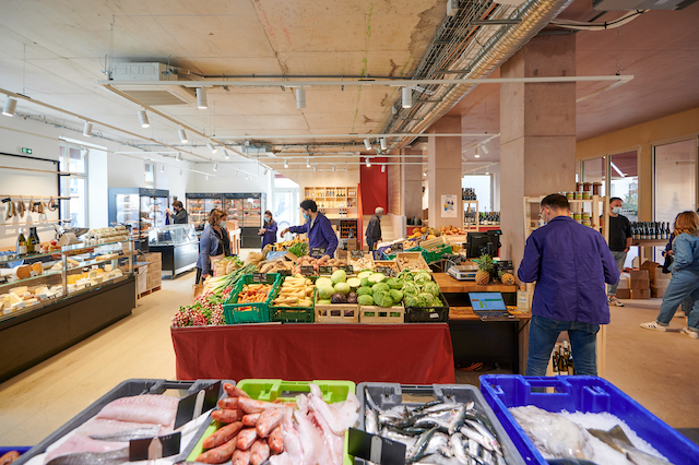 Le Douze, la nouvelle halle food ouverte fin mars dans le 12e / © Pierre Lucet Penato