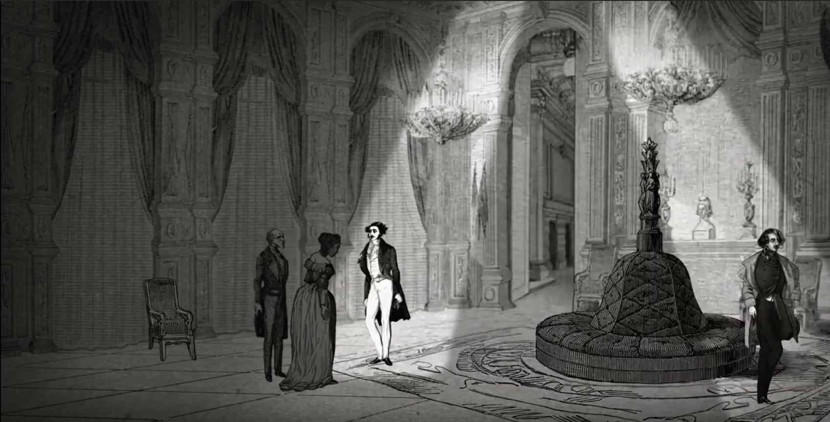"""Le feuilleton littéraire """"Les Mystères de Paris"""" a été adaptée en série animée sur YouTube par la scénariste  Véronique Puybaret / DR"""