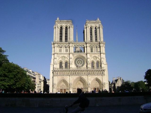 Notre-Dame de Paris avant l'incendie de 2019 /  © Vince (Creative commons - Flickr)