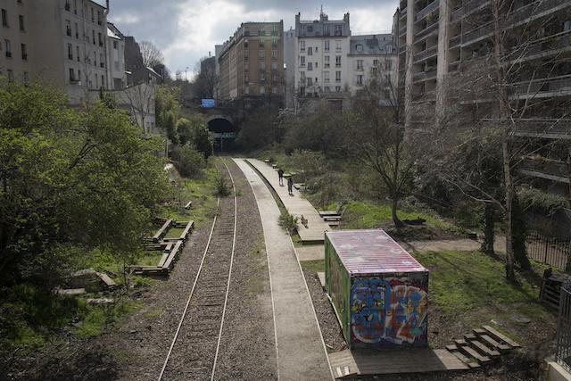 La Petite ceinture à Paris / © Jérômine Derigny pour Enlarge your Paris