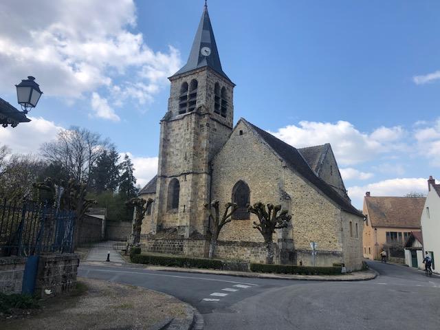 L'église de Choisel /  © Steve Stillman pour Enlarge your Paris