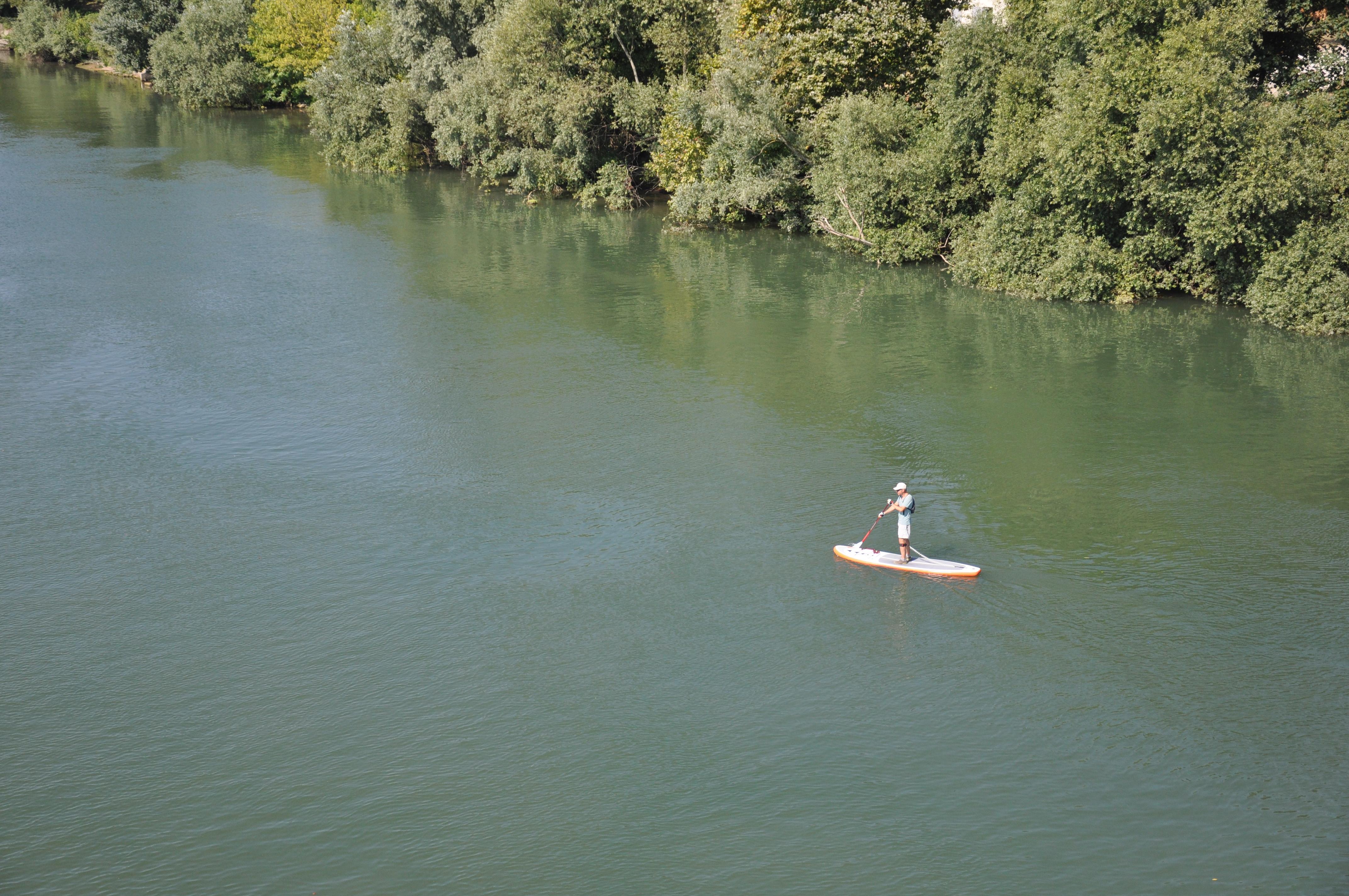 Paddle sur la Seine / © Supexperience