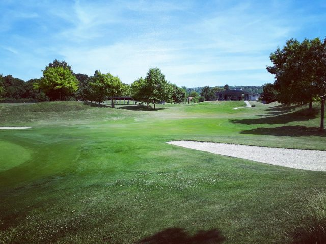 Le parcours du golf de la Poudrerie / © UCPA