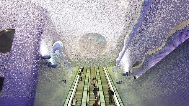 La stazione Toledo à Naples / © Andrea Favia (Wikimedia commons)