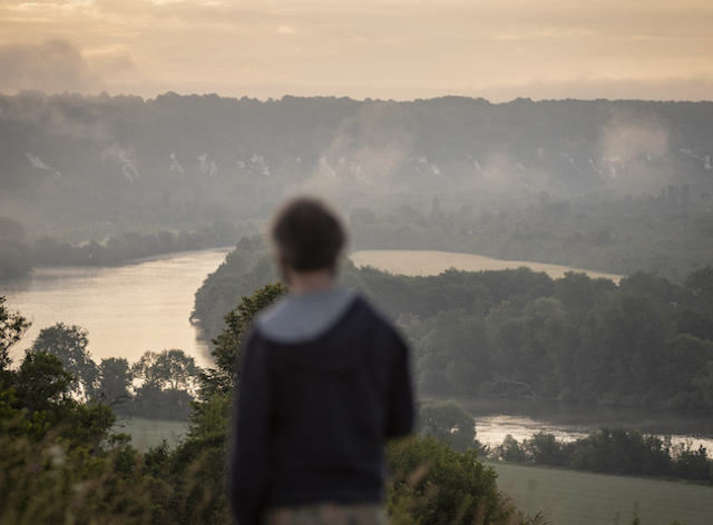 Les falaises du Parc naturel du Vexin français du côté de La Roche-Guyon dans le Val-d'Oise / © Jérômine Derigny pour Enlarge your Paris