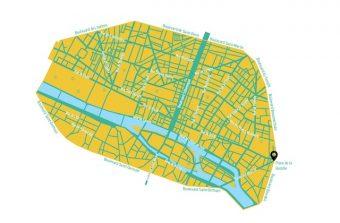 Le centre de Paris en marche pour devenir piéton