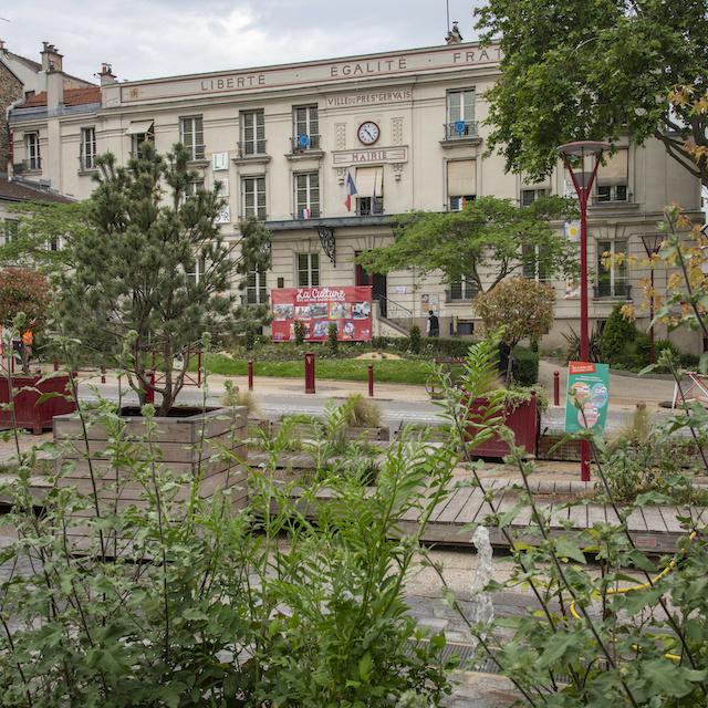 La mairie du Pré-Saint-Gervais / © Jérômine Derigny pour Enlarge your Paris