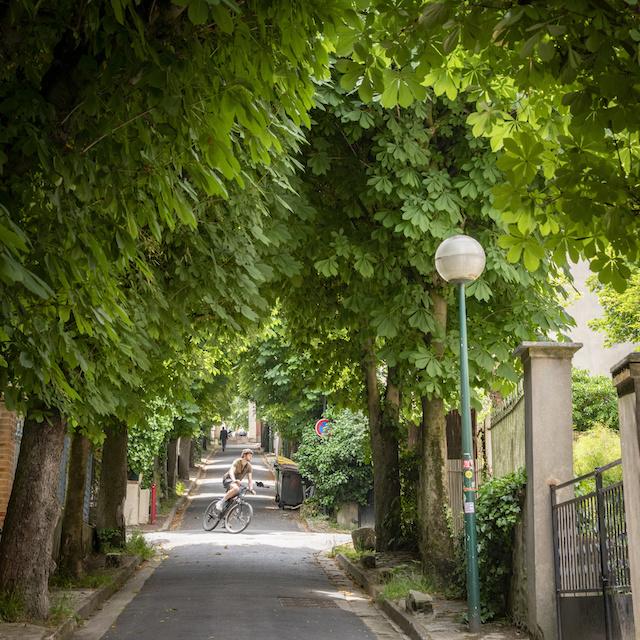 Les rues arborées du Pré-Saint-Gervais / © Jérômine Derigny pour Enlarge your Paris
