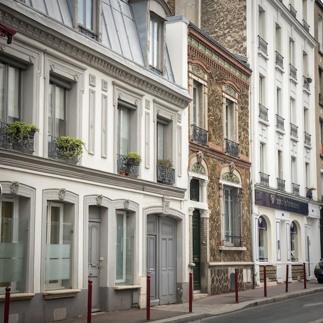 Les façades du Pré-Saint-Gervais / © Jérômine Derigny pour Enlarge your Paris