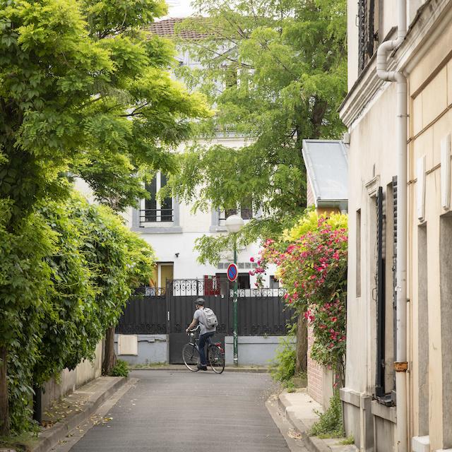 La villa du Pré au Pré-Saint-Gervais / © Jérômine Derigny pour Enlarge your Paris