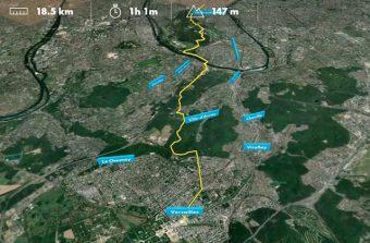 Découvrez en 5mn chrono la «Balade des trois forêts» de Paris à Versailles