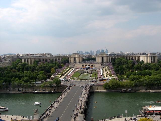 Le Musée de l'Homme, le Musée de la Marine, le Théâtre national de la Danse et la Cité de l'Architecture au Trocadéro font partie 11 musées qui forme la Colline des arts à Paris / © Paola Farrera (Creative commons - Flickr)