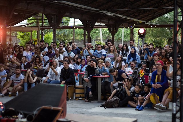 """Le festival """"Notre été à La Commune"""" se déroulera entre autres au fort d'Aubervilliers dans le cadre d'un autre festival, celui des Villes des musiques du monde / © Villes des musiques du monde"""