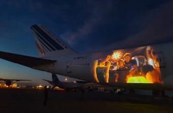 Des films projetés sur un Boeing 747 cet été au musée de l'Air