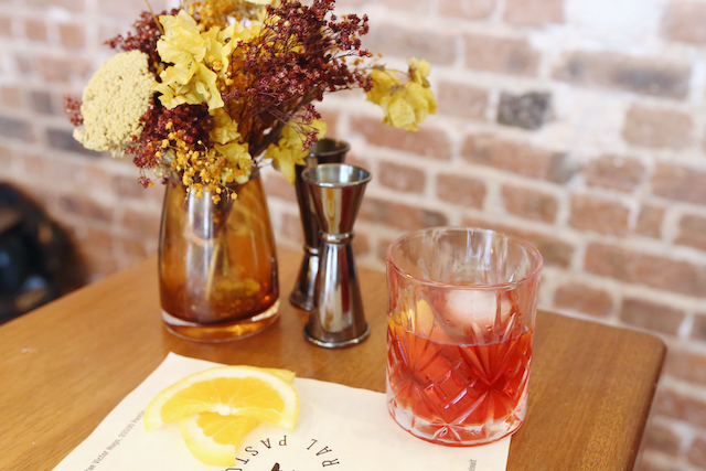Cocktail le Grand Parisien / © Mélanie Rostagnat pour Enlarge your Paris