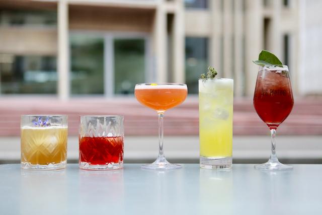Les 5 cocktails du Grand Paris imaginé par le mixologue Jonathan Sabathé pour Enlarge your Paris / © Mélanie Rostagnat pour Enlarge your Paris