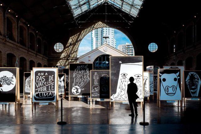 """L'exposition """"Énergie Désespoirs, un monde à réparer"""" est à voir au Centquatre à Paris jusqu'à fin août / DR"""