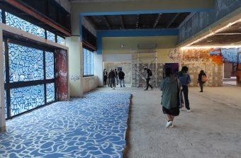Une quarantaine d'artistes s'emparent d'une ancienne poste à Paris