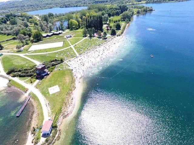 L'île de loisirs de Jablines-Annet accueillera la 1ère édition du festival Vélo en grand du 17 au 19 septembre / © Île de loisirs de Jablines-Annet