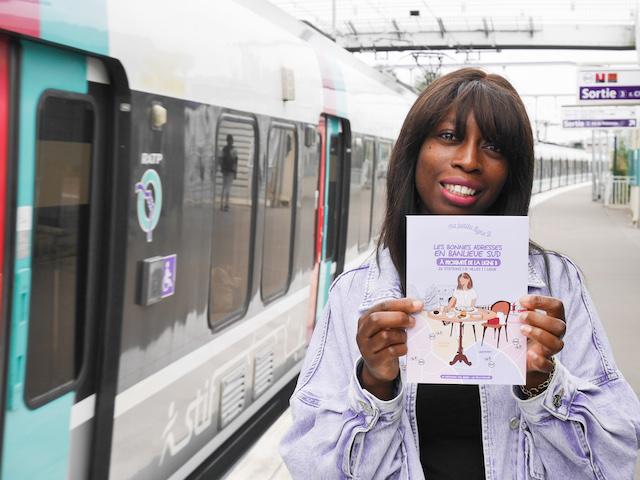 """Sandrine Madji, créatrice du blog """"Ma petite banlieue"""" et auteure de """"Ma petite ligne B"""" / DR"""