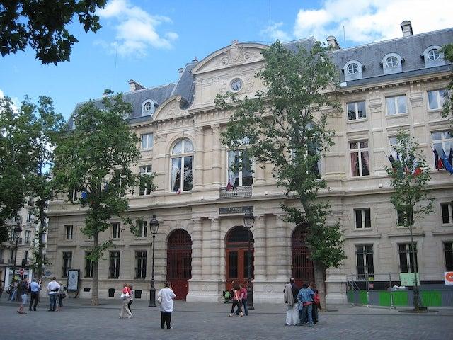 L'ancienne mairie du 4e à Paris abrite désormais l'Académie du climat / DR