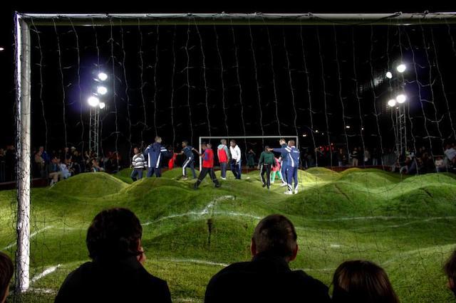 A l'image de cette installation pour Nuit Blanche en 2009, l'édition 2021 promet d'être sportive / @ Jackman Chiu (Creative commons - Flickr)