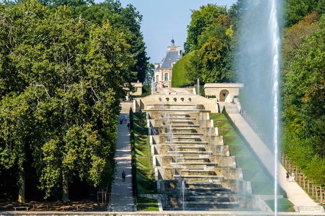 La grande cascade du parc de Sceaux / © Willy Labre