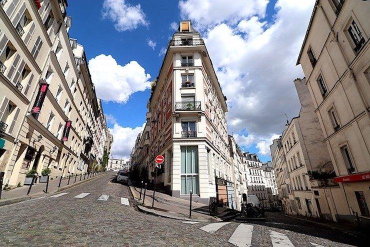 Une rue de Paris déserte / © Pixabay (Pixabay License)