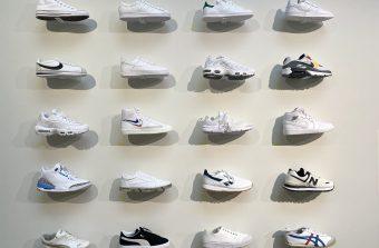 Les baskets mettent les pieds au musée
