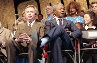 Ecoutez Nelson Mandela sur la scène de la MC93