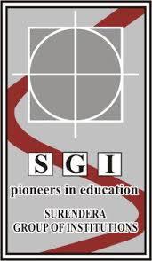 surendra-group-of-institutions-sgi-ganganagar logo