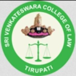 Sri Venkateswara College of Law Tirupati Logo