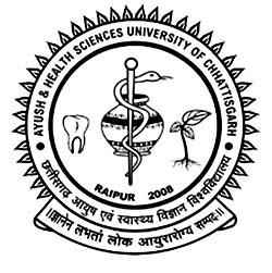 Pt. Deendayal Upadhyay Memorial Health Sciences and Ayush University Logo