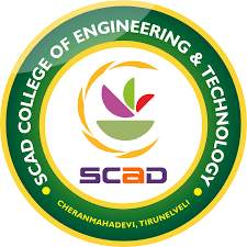 SCAD College of Engineering and Technology Ambasamudram  Logo