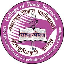 College of Basic Sciences Palampur logo