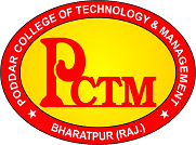 poddar college of technology and management Bharatpur Logo