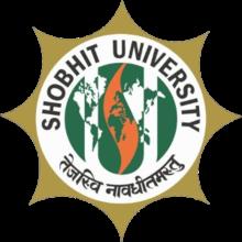 Shobhit University Gangoh Logo