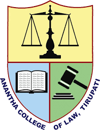 Anantha College of Law Tirupati Logo