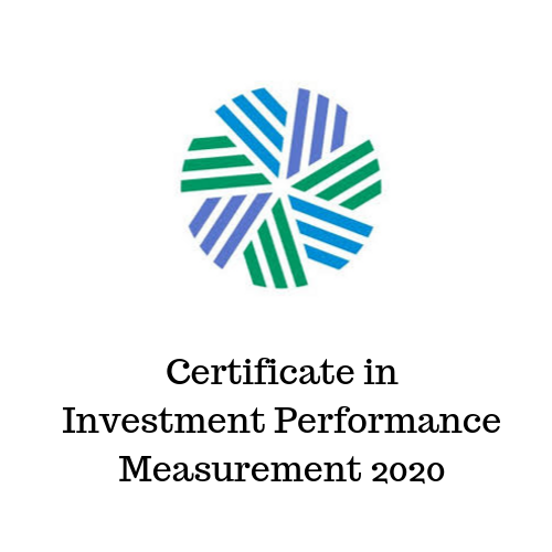 Certificate in Investment Performance Measurement 2020